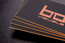 hard suede business cards luxury printing
