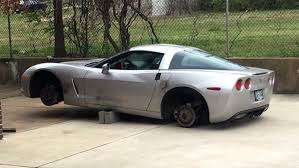 corvette c6 wheels for sale stolen firefighter has wheels stolen from c6 corvette