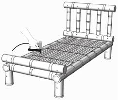 How To Make Furniture by How To Make A Bamboo Bed