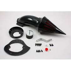 motorcycle parts spike air cleaner intake filter kit for honda vtx