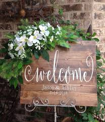 wedding signs diy wedding welcome sign welcome to our wedding sign wedding sign