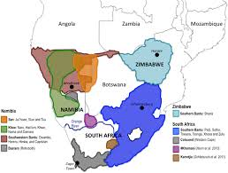 africa map study map of study recruitment areas shown is a map of southern africa