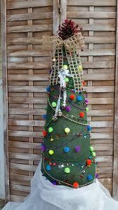 burlap christmas burlap christmas tree hometalk