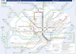 Barcelona Subway Map by Germany Frankfurt Metro Mapa Metro
