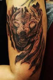 31 eye catching wolf tattoo with black and colorful ink picsmine