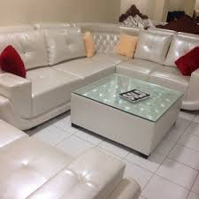 livingroom table ls leather sofa afp ls 14 amar furniture palace