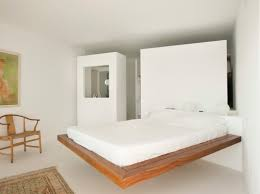 wooden platform bed interior design ideas