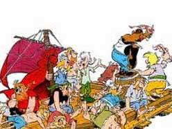 pirates asterix comics