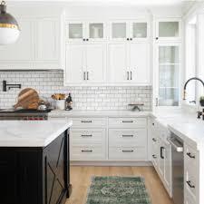 what color backsplash with white quartz countertops 75 beautiful kitchen with quartz countertops and subway tile
