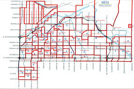 mesa az map mesa map my