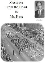 Memorial Booklet Frank Mcclain Hess Memorial Service Booklet