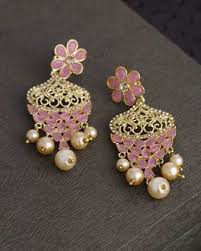 online earrings earrings design for women buy pearl artificial stud kundal