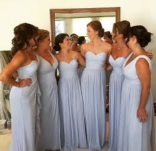 Light Gray Bridesmaid Dress Best 25 Light Blue Bridesmaids Ideas On Pinterest Light Blue