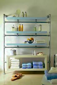 Bathroom Shelving Ideas For Towels Diy Bathroom Shelving Ideas Round Shape Gold Sink Idea Brown