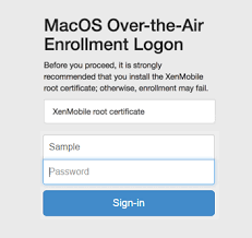 enroll devices