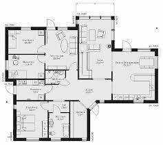 plan villa plain pied 4 chambres chambre beautiful plan maison plain pied 1 chambre hd wallpaper