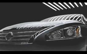 nissan altima headlights taillight teaser 2013 nissan altima continues slow leak before