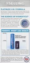 hydroxycut platinum weight loss probiotics u0026 vitamins dietary