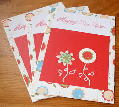 latest and beautiful handmade new year cards ideas