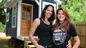 teen builds tiny house project becomes memorial to dad