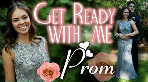 get ready with me prom youtube