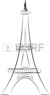 eiffel tower sketch royalty free cliparts vectors and stock