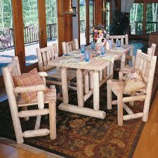 furniture functional rustic narrow dining table in rectangular