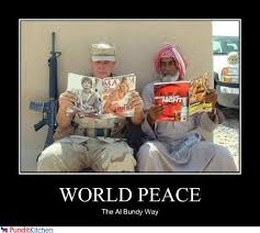 World Peace Meme - that s the kind of peace we can all give a chance randomoverload