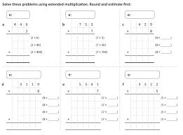 long multiplication worksheets ks2 multiplying large numbers
