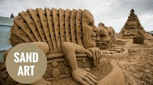 amazing sand sculptures on show in weston super mare youtube