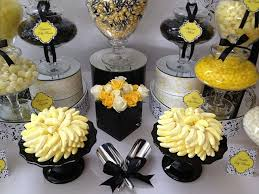 Black And White Candy Buffet Ideas by 77 Best Candy Dessert Table Black And Gold Images On Pinterest