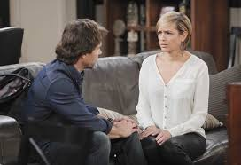 nichole on days of our lives with short haircut week of 5 12 14 days of our lives nbc daniel orders nicole