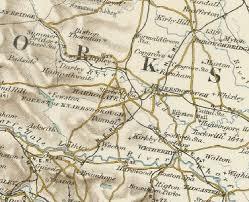 map uk harrogate history of harrogate in west map and description