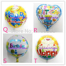 birthday ballon delivery happy birthday helium ballons for birthday party four designs