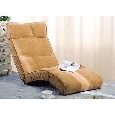 merax floor recliner lazy sofa bed folding chair adjustable game
