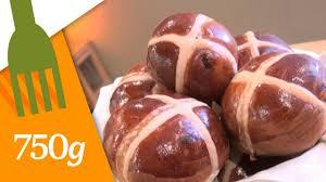 wafia cuisine recette des cross buns 750 grammes