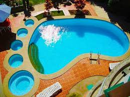 cool swimming pool designs bedford ny glass tile pool spa cipriano