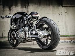 hellcat bicycle 2012 confederate x132 hellcat cafe racer bike futuristic concept