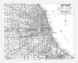 chicago map streets chicago map white painting by watercolormaps chris and
