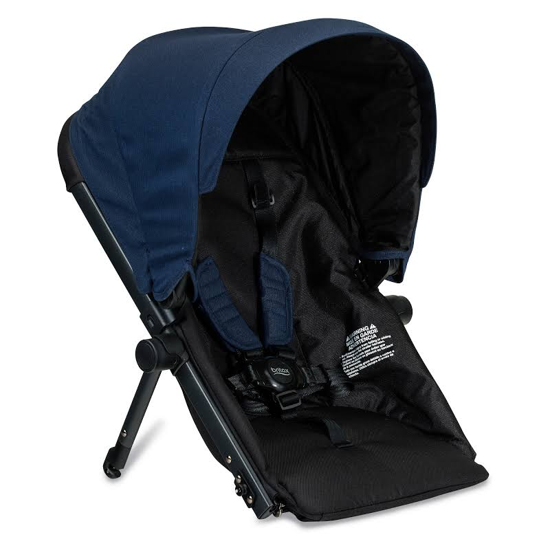 Britax S934100 B Ready Polyester Second Seat Conversion For G3 Strollers, Navy