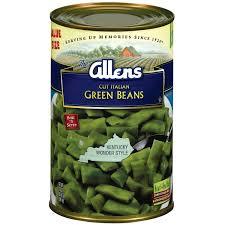 the allens italian cut kentucky wonder style green beans 38 oz