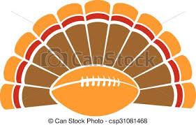 clip vector of thanksgiving turkey football a thanksgiving