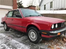 1986 bmw 325e sedan red black manual transmission no longer