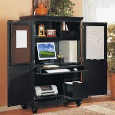 Hooker Brookhaven by Computer Table Exceptional Computer Armoire Desk Image Concept