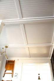 Best Way To Paint Beadboard - best 25 basement ceiling options ideas on pinterest basement