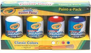 crayola paint colors ideas crayola metallic colors washable kids