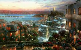 Hd New York City Wallpaper Wallpapersafari by Free Thomas Kinkade Wallpapers For Desktop Wallpapersafari