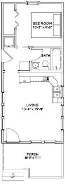 14 X 32 Plans Tiny Houses Cottages And Cabins Pinterest Remote Cabin Floor Plans