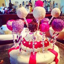 diy baby shower cake pops covered in crystals baking