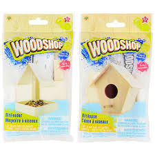 bulk woodshop diy wood craft kits at dollartree